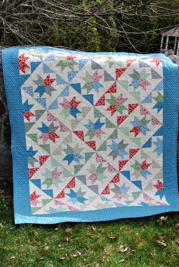 The Brightest Star Quilt Pattern