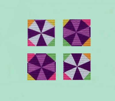 Kaleidoscope Quilt Blocks