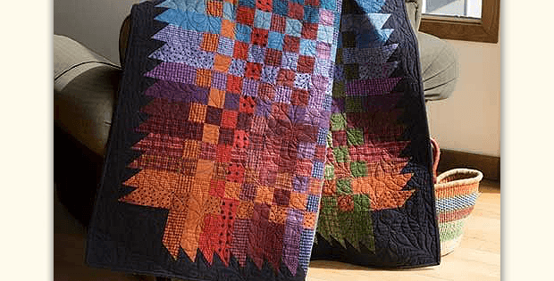 Over and Down Under Quilt