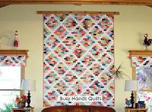 Brick Cottage Quilt and Valances
