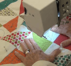 Tips for Quilting on a Home Machine