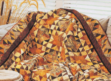 Smoky Point Stars Quilt Pattern