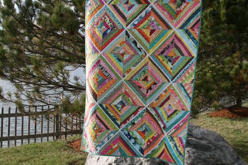 Kaleidoscope String Quilt