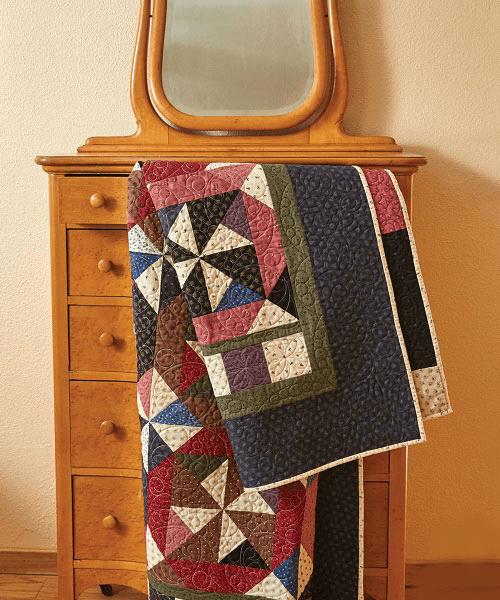 Windmill Garden Quilt Pattern