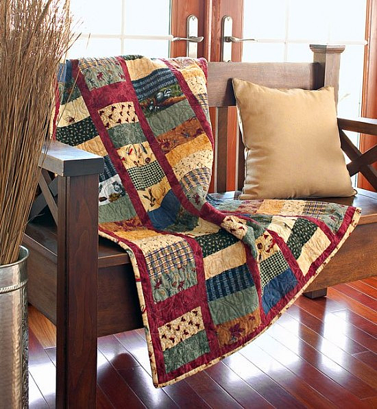 On the Fly Flannel Quilt