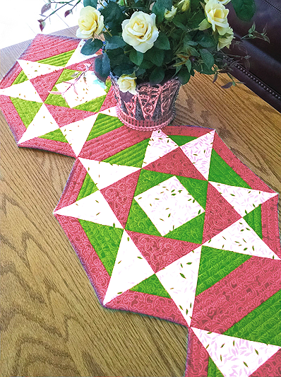 Patriot Stars Table Runner