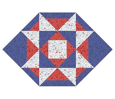 Patriot Stars Table Ensemble Pattern