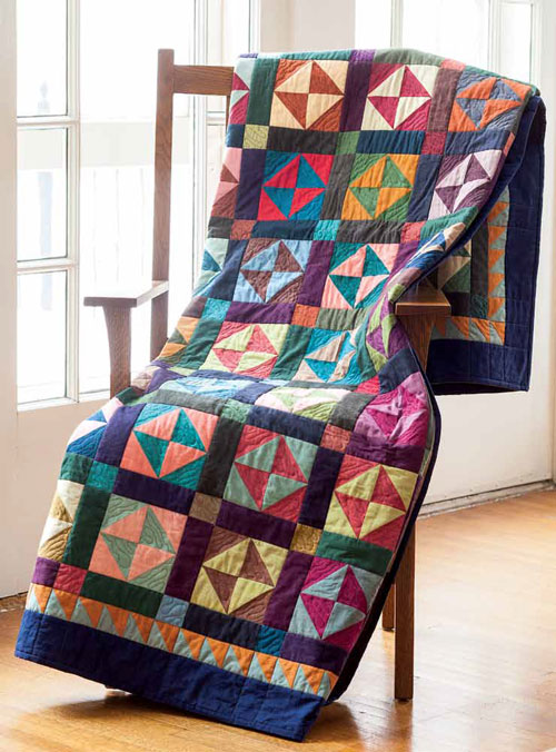 Grandma's Broken Dishes Quilt