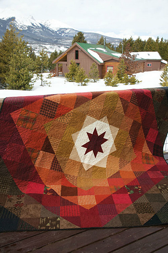 Comfy Cabin Quilt Pattern