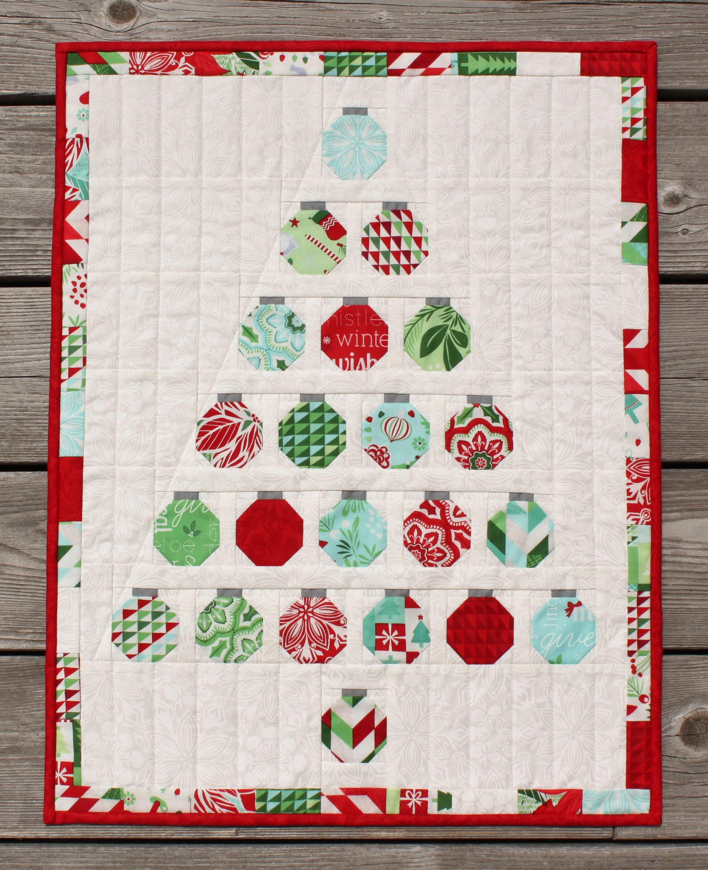 Christmas Quilt Block Patterns Free : Simple Blocks Form a Charming Christmas Tree - Quilting Digest