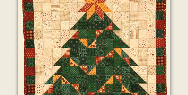 This Sweet Tree Brims With Good Cheer Quilting Digest