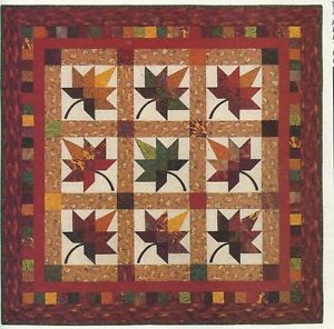 A Spectacular Quilt to Display Every Fall - Quilting Digest