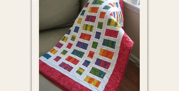 Fat Quarter Baby Quilt Tutorial