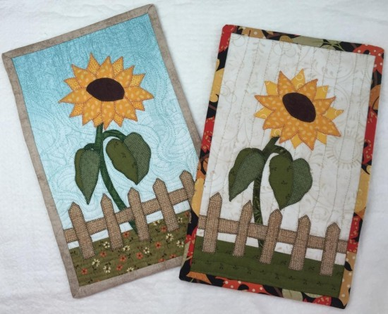 Sunflower Mug Rug