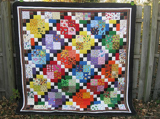 I Spy Diamonds Quilt Pattern