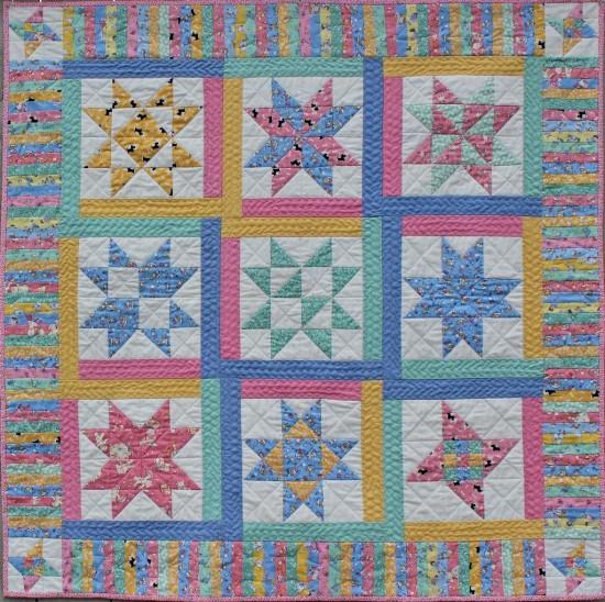 Oh My Stars! Sampler Quilt