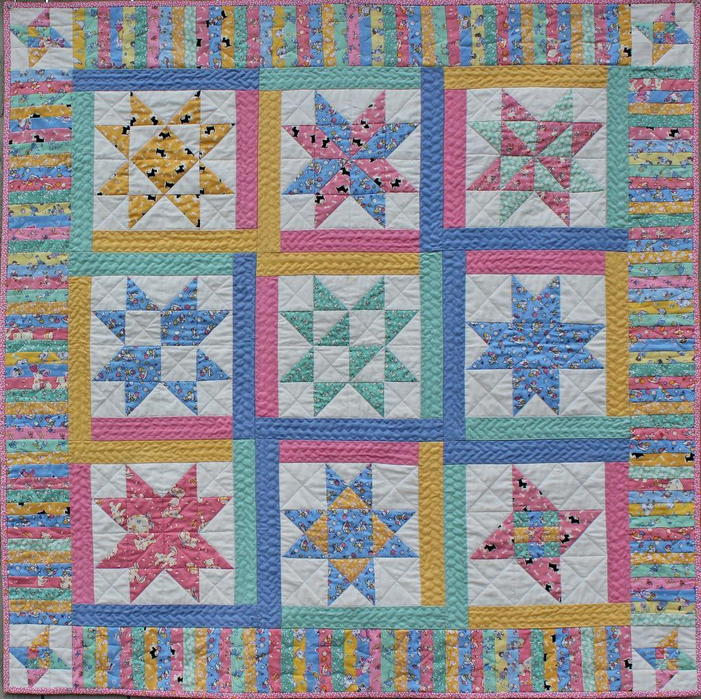 A Charming Quilt To Give Or Display Quilting Digest