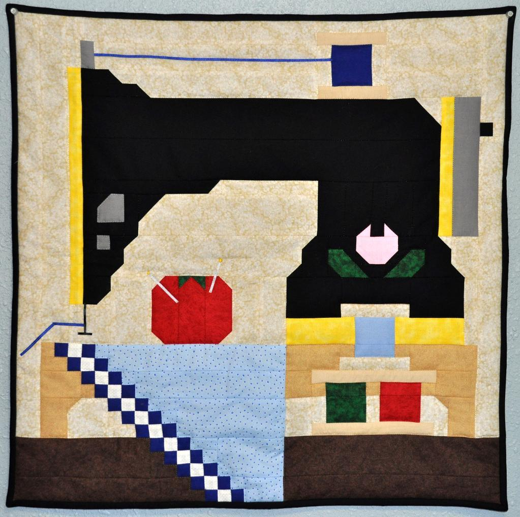 Stitch Up a Sewing Machine Quilt for your Wall or Lap - Quilting ... : sewing machine quilting patterns - Adamdwight.com