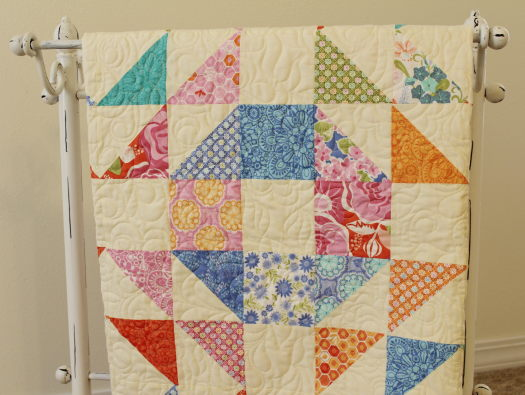 Honey Honey Layer Cake Quilt