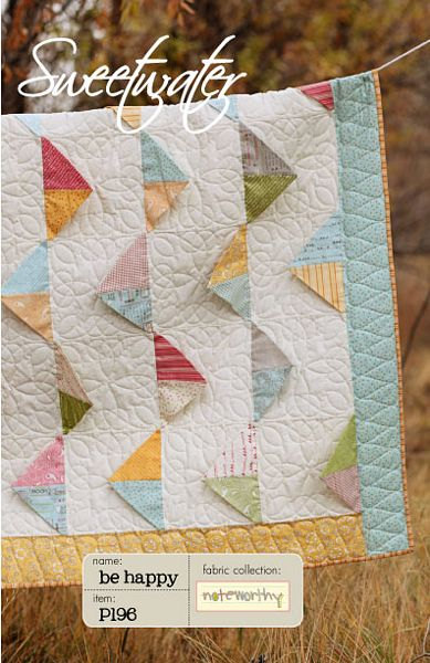 Be Happy Quilt Pattern