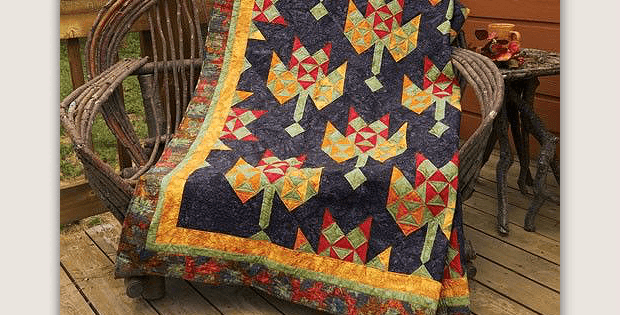 Leaf Play Quilt