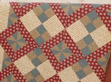 Four-Patch Surprise Quilt Pattern