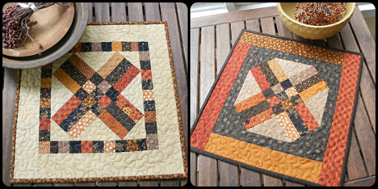 Fall Table Runner Pattern