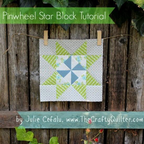 Pinwheel Star Block Tutorial