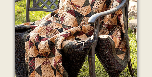 Ring Around the Square Quilt Pattern