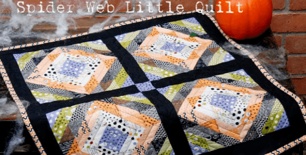 Spider Web Little Quilt