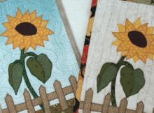 Sunflower Mug Rug