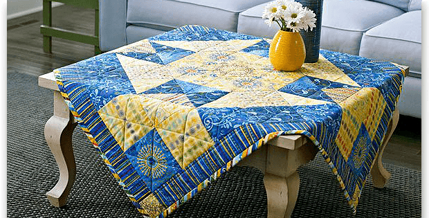 Sunny Side Up Table Topper