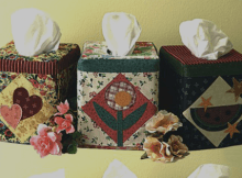 Seasonal Tissue Box Covers Pattern