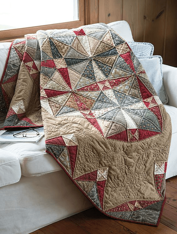 Across the Pond Quilt Pattern
