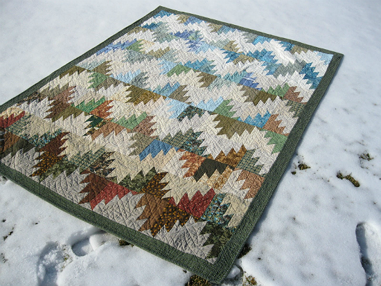 Scrappy Mountain Majesties Quilt