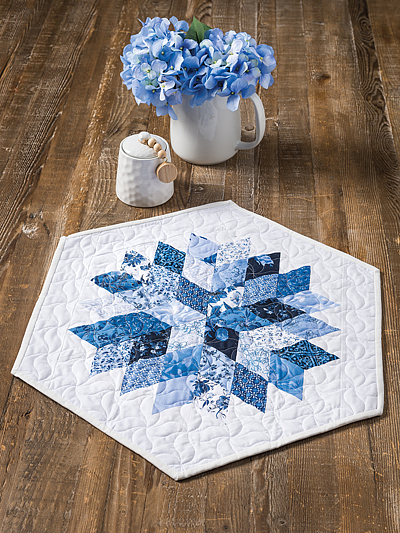 Rock Candy Table Topper Pattern