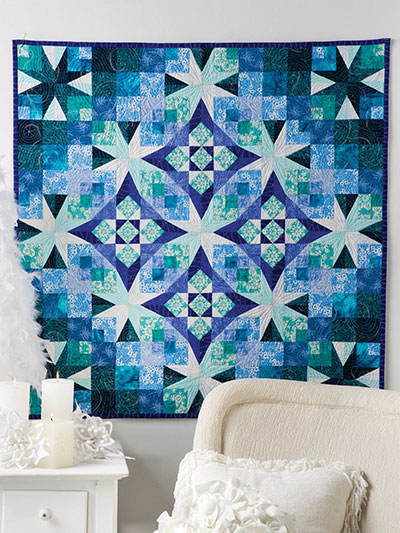 Frost In The Air Wall Quilt
