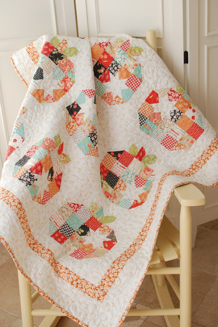 Patchwork Pumpkins Are Fun In This Quilt Quilting Digest