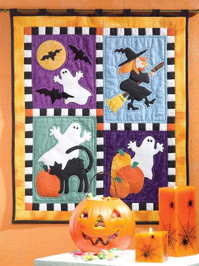 Spooky Halloween Quilt