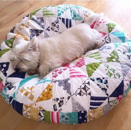 Patchwork Pet Bed