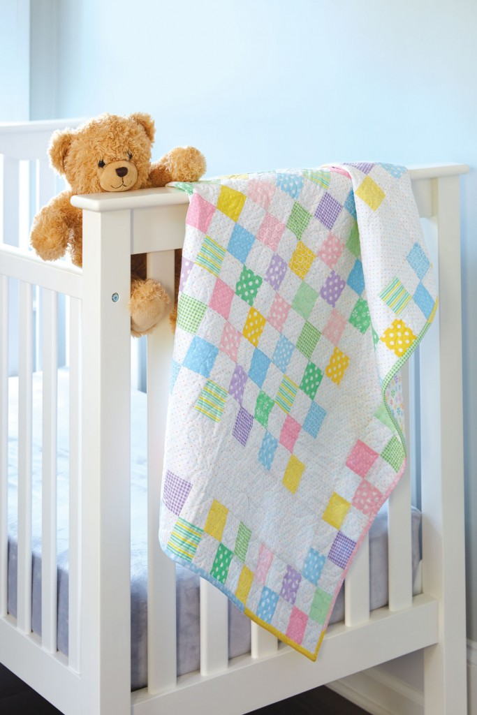 An Easy Baby Quilt To Make Up Quickly