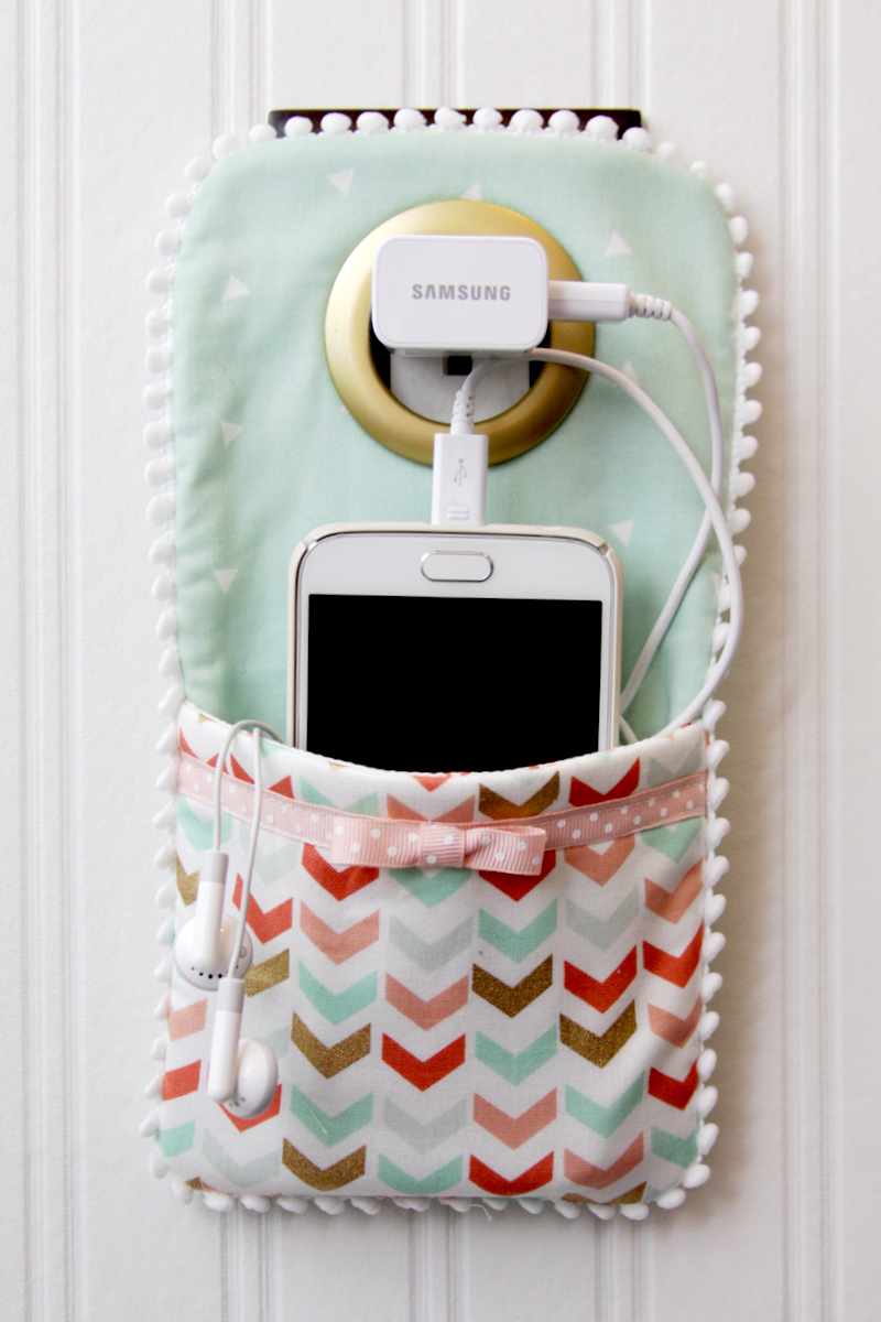 Corral Phone Charger Cords With A Charming Holder