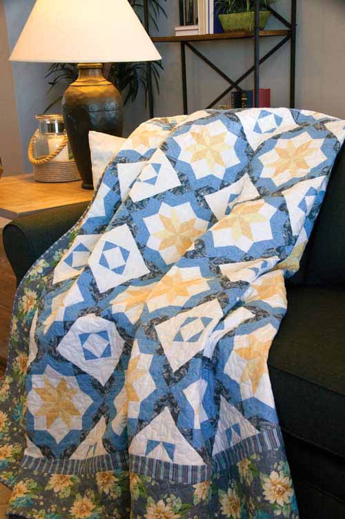 Buttercup and Blue Quilt Pattern