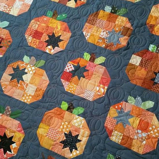 Pumpkin Seeds Quilt Pattern