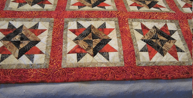 Autumn Star Bed Runner