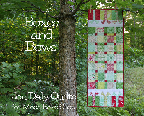 Boxes and Bows Runner Pattern