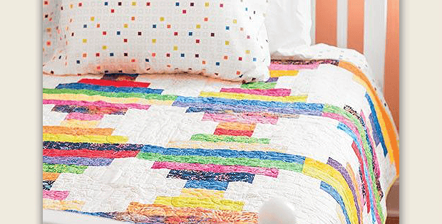 Color Bars Quilt Pattern