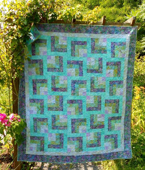 Purple Maze Quilt