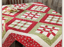 Nine by Nine Table Topper Pattern