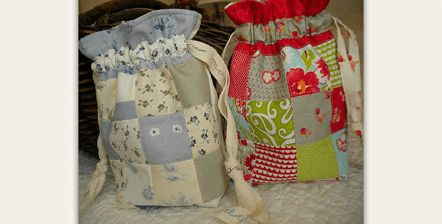 Patchwork Gift Bag
